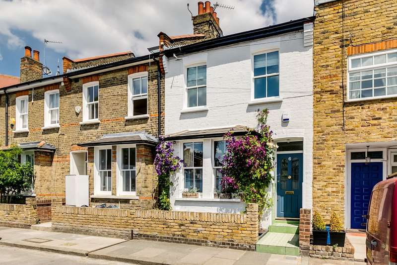 3 Bedrooms Terraced House for sale in Cross Street, Barnes