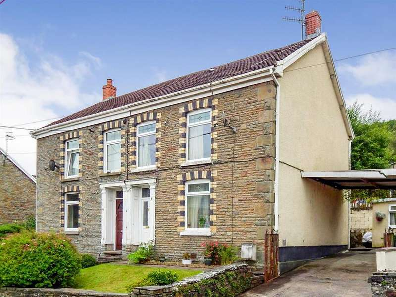 3 Bedrooms Semi Detached House for sale in Penywern Road, Ystalyfera, Swansea