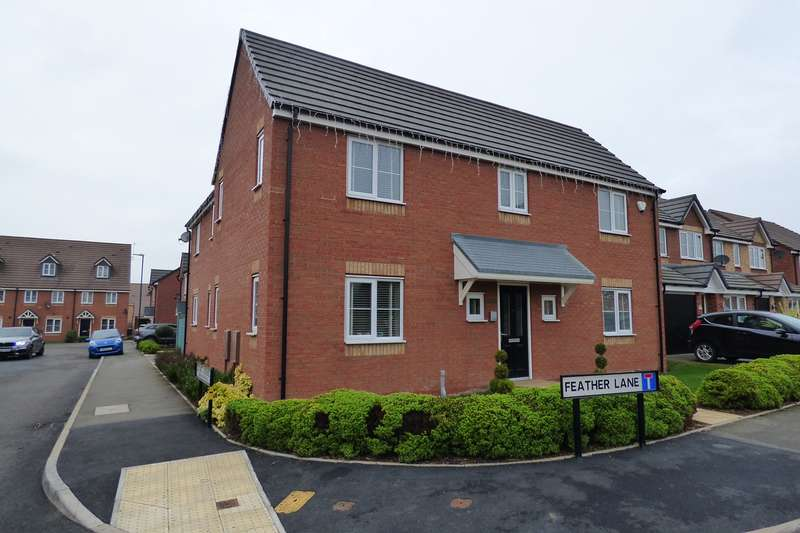 4 Bedrooms Detached House for sale in Feather Lane, Penn's Croft, Nuneaton, CV10