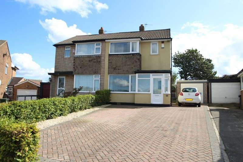 3 Bedrooms Semi Detached House for sale in GROVE FARM CRESCENT, COOKRIDGE, LEEDS, LS16 6BZ