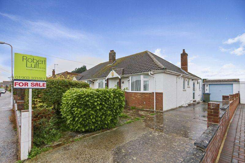 2 Bedrooms Bungalow for sale in Warren Crescent, East Preston