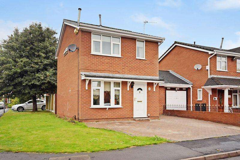 3 Bedrooms Detached House for sale in Poulton Drive, Widnes