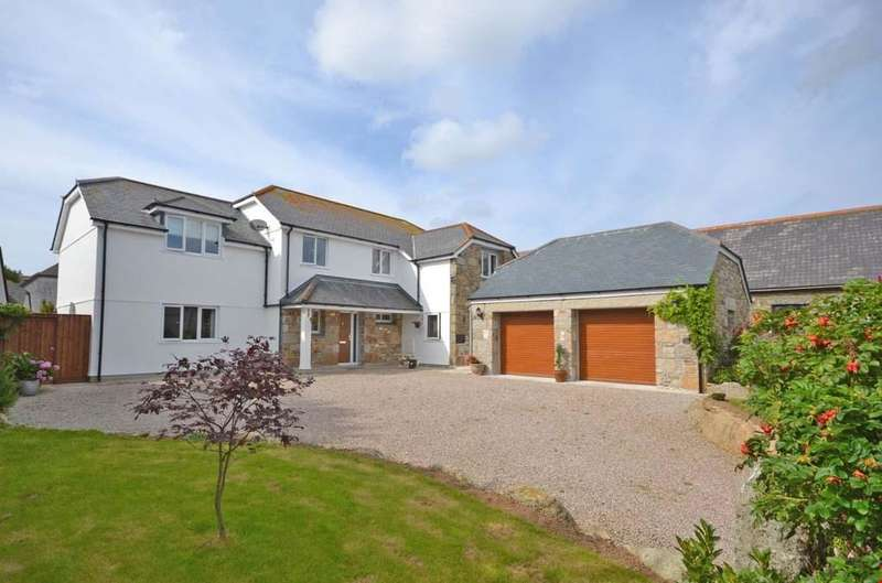 5 Bedrooms Detached House for sale in St Buryan, Nr. Penzance, West Cornwall, TR19