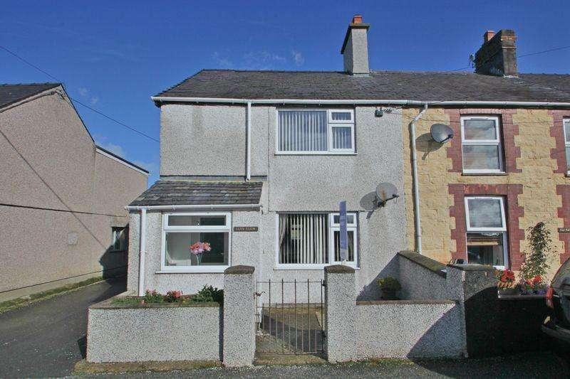 3 Bedrooms Terraced House for sale in Llanrug, Gwynedd