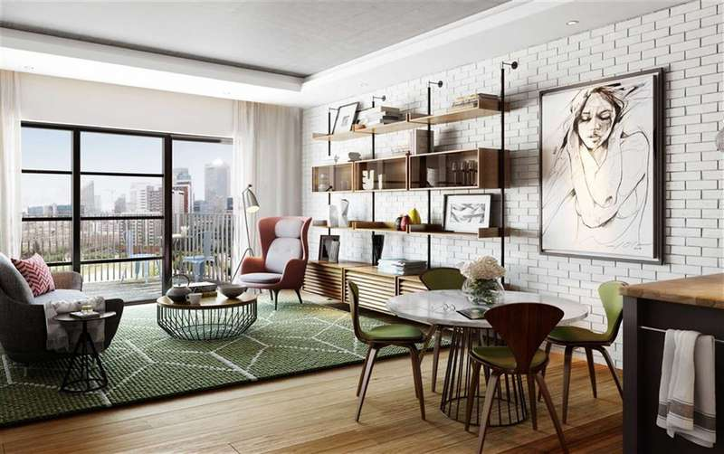 2 Bedrooms Apartment Flat for sale in Albion House, City Island, London