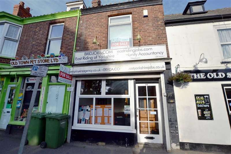 2 Bedrooms Shop Commercial for sale in St Johns Street, Bridlington, East Yorkshire, YO16