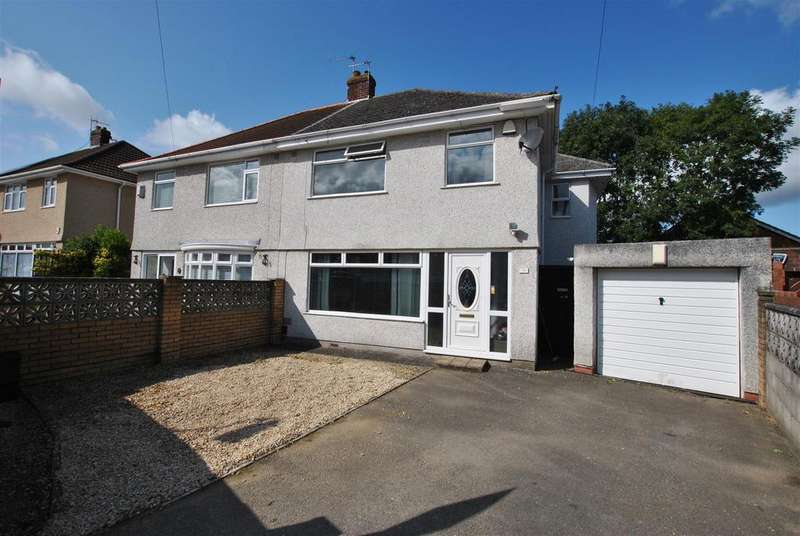 4 Bedrooms Semi Detached House for sale in Fanshawe Road, Hengrove, Bristol