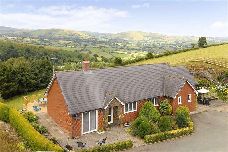 3 Bedrooms Detached House for sale in Penygarnedd, Llanrhaeadr Ym Mochnant, Oswestry, SY10