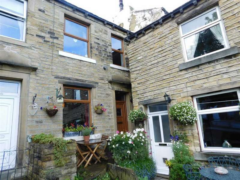 2 Bedrooms Cottage House for sale in Lower Wellhouse, Golcar, Huddersfield