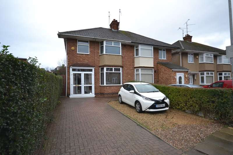 3 Bedrooms Semi Detached House for sale in Lyncrest Avenue, Duston, Northampton, NN5