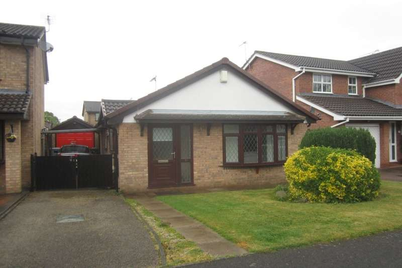 2 Bedrooms Detached Bungalow for sale in Ullswater Avenue, Crewe, CW2