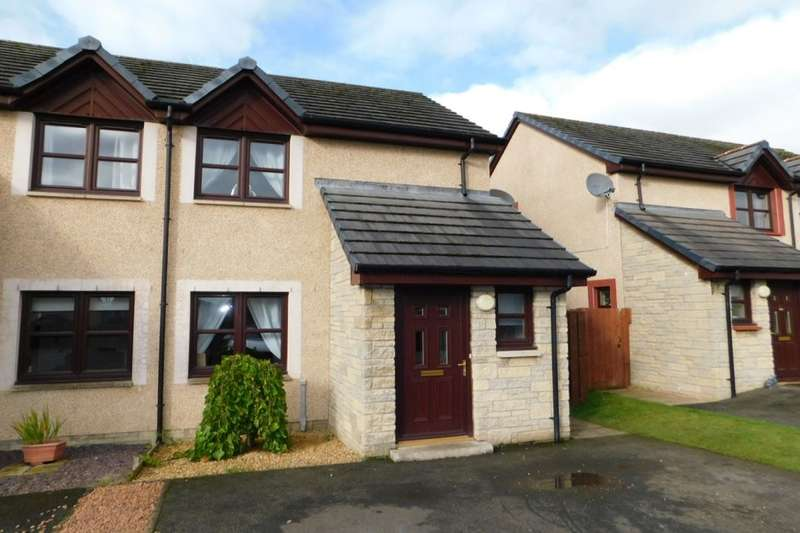 2 Bedrooms Semi Detached House for sale in Castledyke Way, Carstairs, Lanark, ML11
