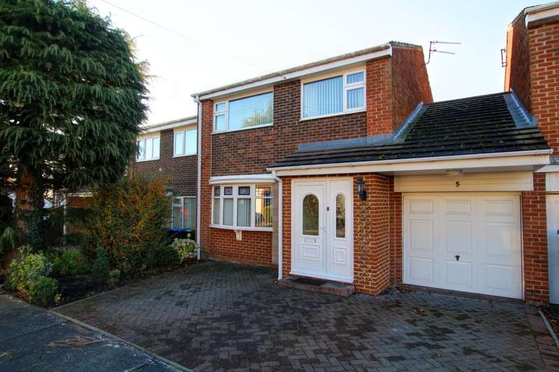 3 Bedrooms Semi Detached House for sale in Stanhope Close, Newton Hall, Durham, DH1