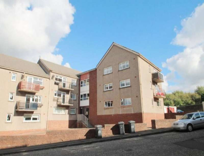 3 Bedrooms Flat for rent in Wilson Street, Airdrie, ML6