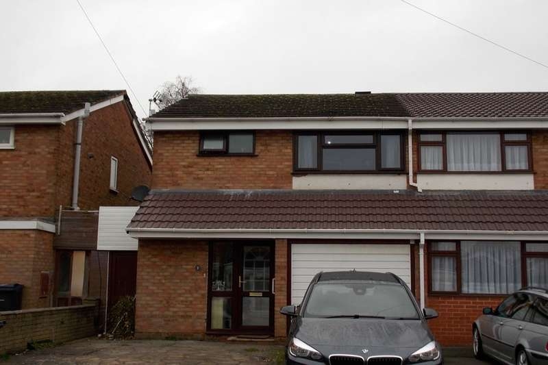3 Bedrooms Semi Detached House for rent in Lonsdale Close, Yardley, Birmingham, B33