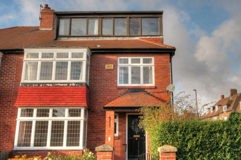 5 Bedrooms Semi Detached House for sale in Fowberry Crescent, Fenham, Newcastle Upon Tyne, NE4