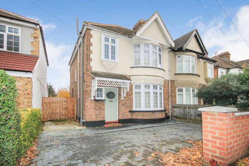 3 Bedrooms Semi Detached House for sale in Upper Brentwood Road, Romford, RM2