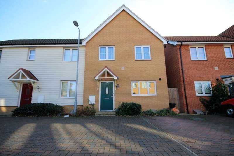 3 Bedrooms Semi Detached House for sale in Juliette Mews, Romford, RM1