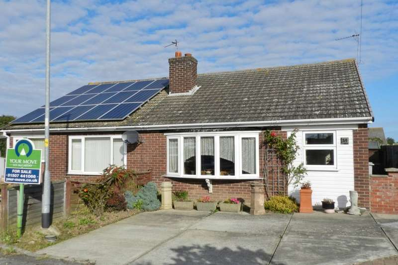 2 Bedrooms Semi Detached Bungalow for sale in Chalfont Avenue, Mablethorpe, LN12