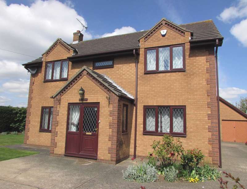 4 Bedrooms Detached House for sale in Hatikvah House North Street, Roxby, Scunthorpe, DN15