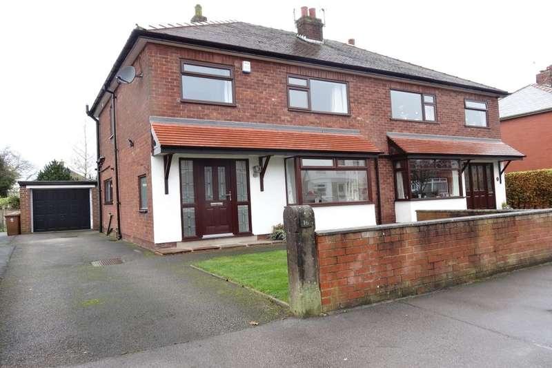 3 Bedrooms Semi Detached House for sale in Jepps Avenue, Barton, Preston, PR3