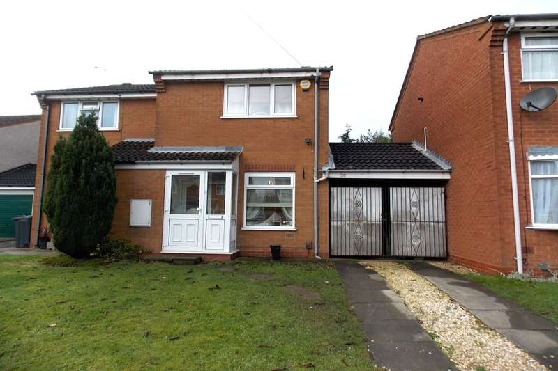 2 Bedrooms Semi Detached House for sale in Fellbrook Close, Birmingham, B33