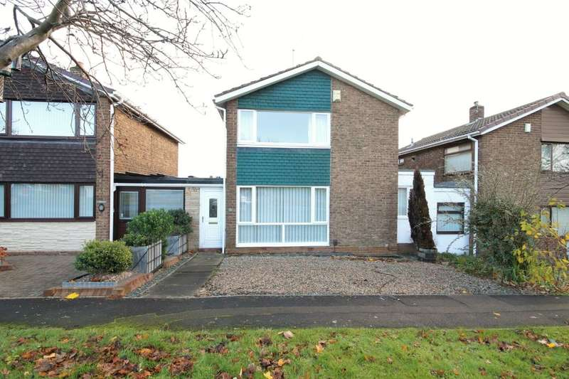 3 Bedrooms Detached House for sale in Whinway, Washington, NE37