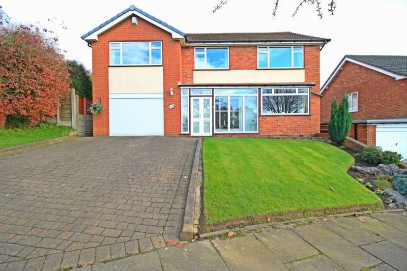5 Bedrooms Detached House for sale in Treen Road, Astley,Tyldesley, Manchester, M29