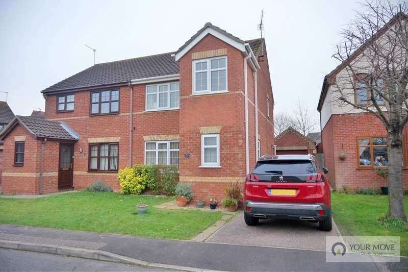 3 Bedrooms Semi Detached House for sale in El Alamein Way, Bradwell, Great Yarmouth, NR31