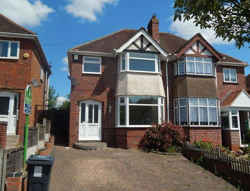 3 Bedrooms Semi Detached House for rent in Farren Road, Northfield, Birmingham, B31