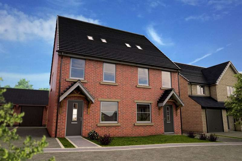 3 Bedrooms Semi Detached House for sale in Kings Court, Wombwell, Barnsley, S73