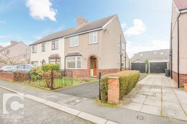 3 Bedrooms Semi Detached House for sale in Olive Drive, Neston, Cheshire