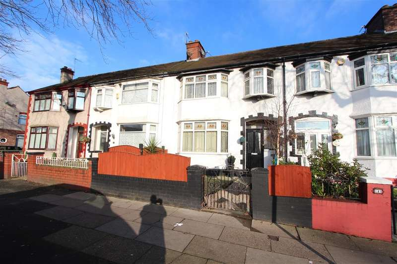 3 Bedrooms Terraced House for sale in Broad Green Road, Old Swan, Liverpool