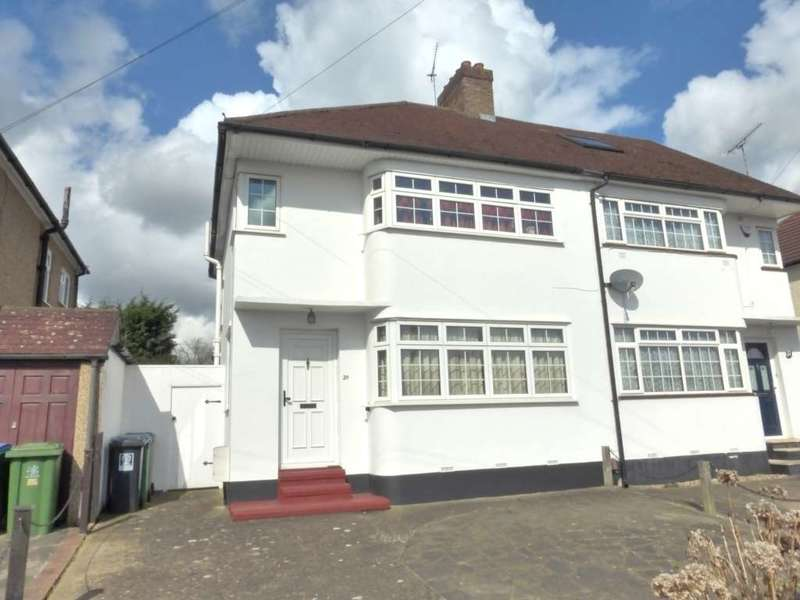 3 Bedrooms Semi Detached House for sale in Hillrise Avenue, Watford