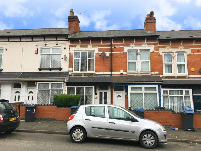 3 Bedrooms Terraced House for sale in Brixham Road, Edgbaston, Birmingham, B16