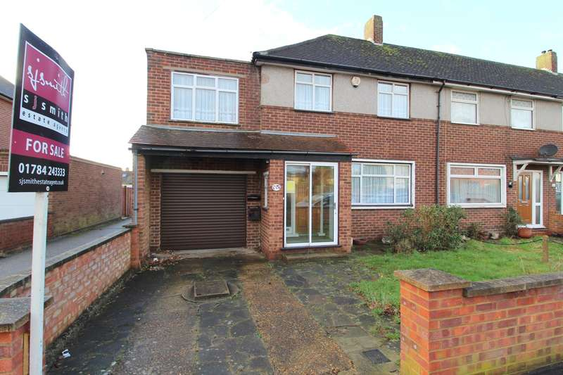 3 Bedrooms End Of Terrace House for sale in Ludlow Road, Feltham, Middlesex, TW13