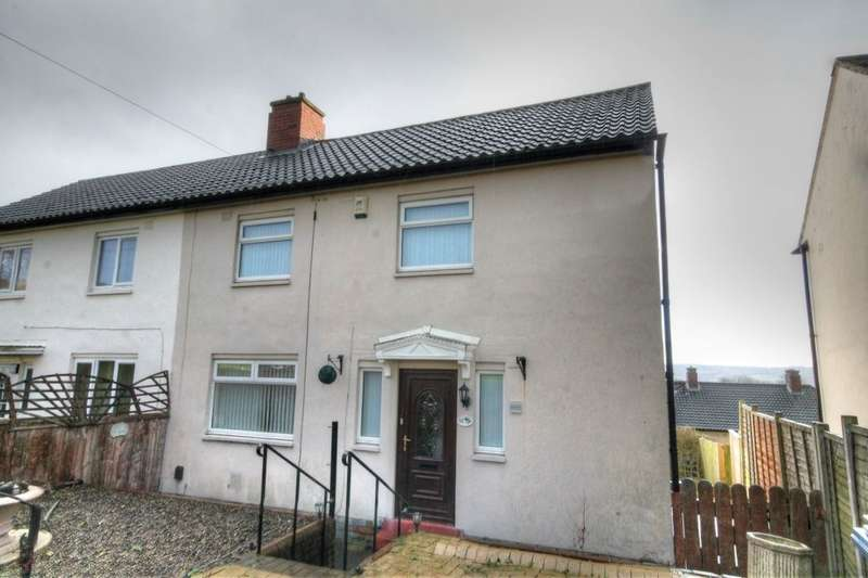 3 Bedrooms Semi Detached House for sale in Neville Road, Lemington, Newcastle Upon Tyne, NE15