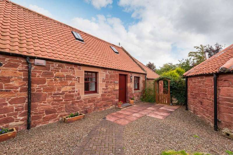 3 Bedrooms Semi Detached House for sale in The Smithy, 7 Garvald Grange Steading, Garvald, East Lothian, EH41 4LL