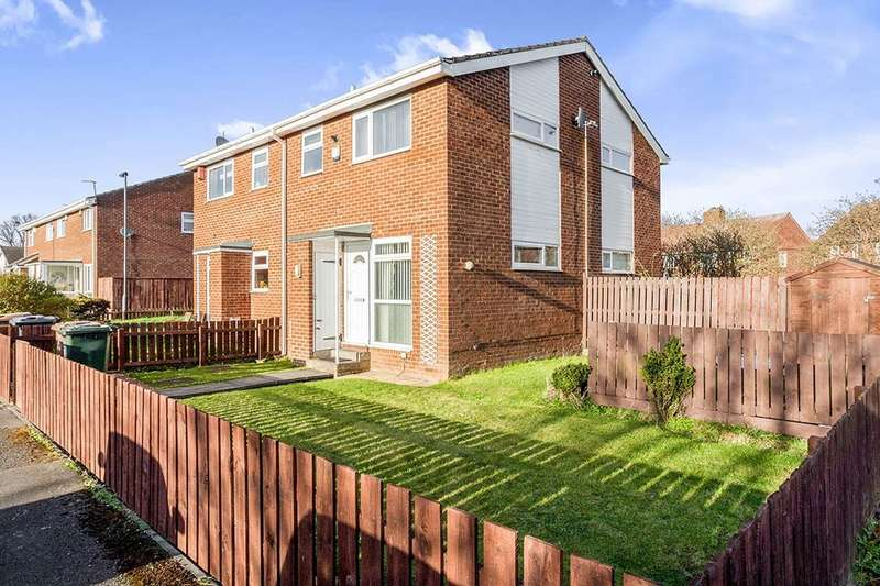 1 Bedroom Semi Detached House for sale in Worsley Close, Wallsend, NE28