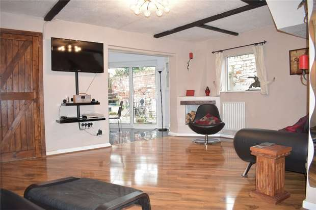 2 Bedrooms Terraced House for sale in Gravel Walk, Tewkesbury, Gloucestershire