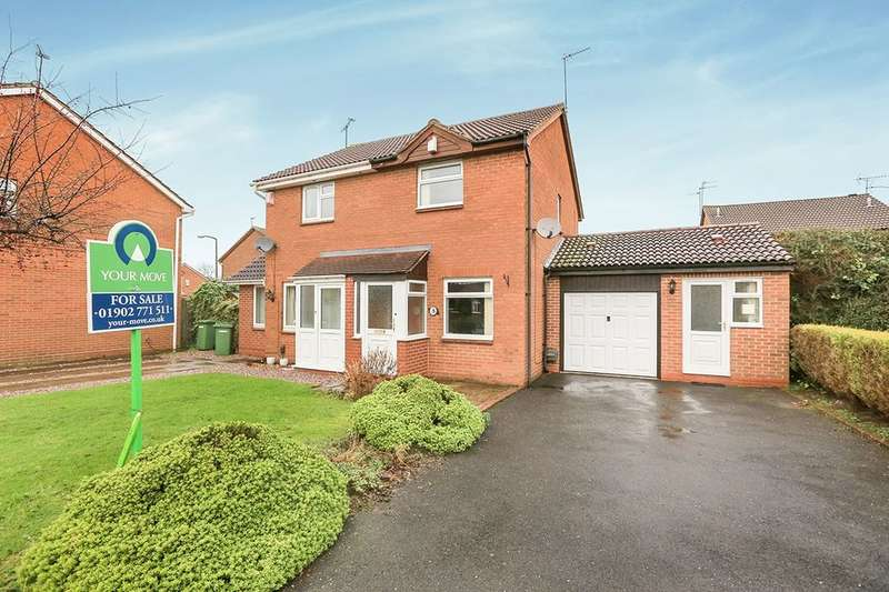 2 Bedrooms Semi Detached House for sale in Haywain Close, Wolverhampton, WV9