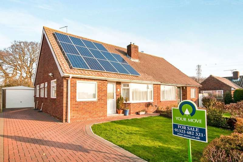 2 Bedrooms Semi Detached Bungalow for sale in Dover Road, Polegate, BN26