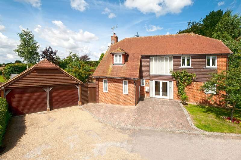 4 Bedrooms Detached House for sale in Sellindge, Ashford, TN25