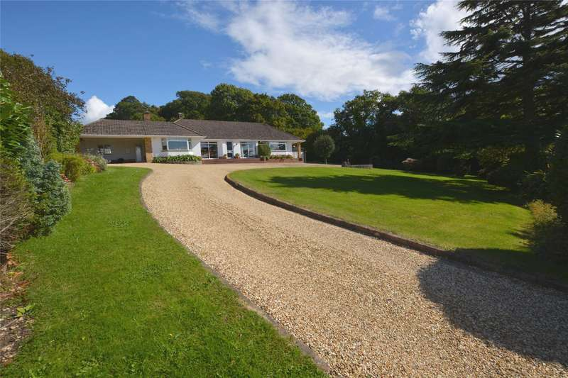 5 Bedrooms Detached Bungalow for sale in Undershore Road, Lymington, Hampshire, SO41