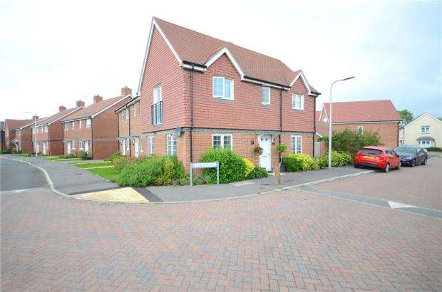 3 Bedrooms End Of Terrace House for sale in Fawn Drive, Three Mile Cross, Reading