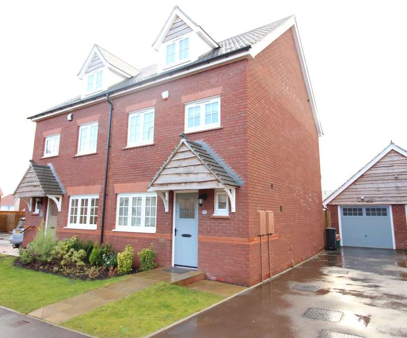 4 Bedrooms Semi Detached House for sale in Excalibur Drive, Newport, NP20