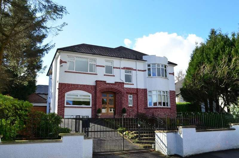 4 Bedrooms Detached Villa House for sale in Roddinghead Road , Giffnock , Glasgow, G46 6TW