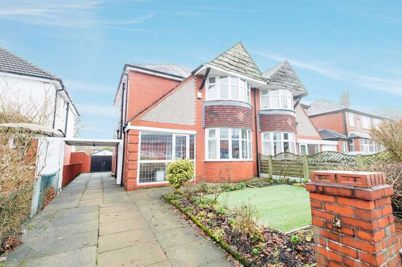 3 Bedrooms Semi Detached House for sale in Greenland Road, Farnworth, Bolton, BL4