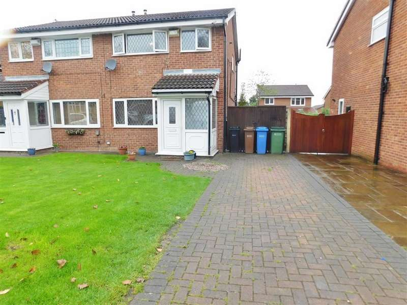 3 Bedrooms Semi Detached House for sale in Hayfield Avenue, Bredbury, Stockport