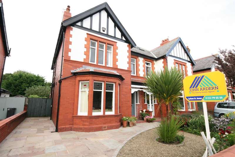 4 Bedrooms Semi Detached House for sale in Central Drive, Ansdell, Lytham St. Annes